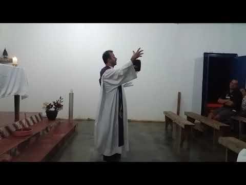 Celebração da Santa missa na comunidade rural de Boa vista(1)