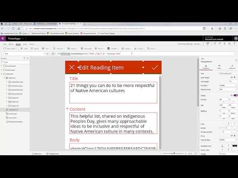 Friday Functions Series | Handling SPO Rich Text Columns in PowerApps