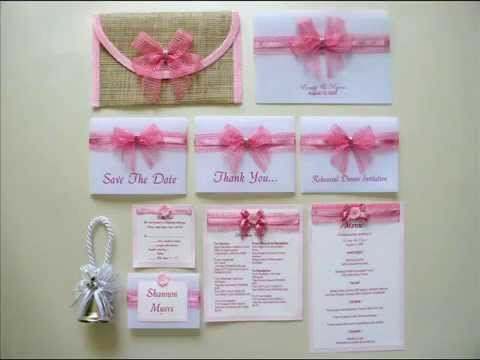 Philippine wedding invitations unique wedding invitations youtube filmwisefo