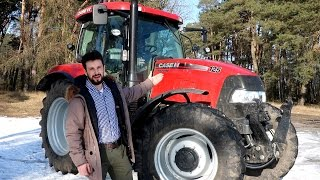 Rolnik Szuka Traktora - Case IH Maxxum 125 ||25 ( Walkaround / Prezentacja )