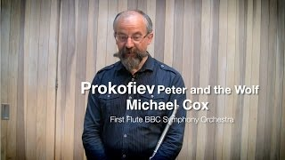 Prokofiev Peter And The Wolf Flute Solos Demonstrated By Michael Cox