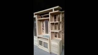 Bufet Minimalis (partisi Jati) Modern Furniture Jepara