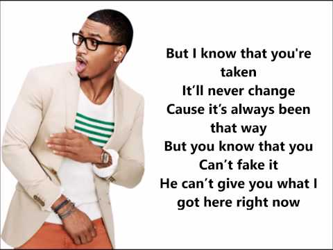 Trey Songz - Mr steal your girl (Lyrics on Screen)