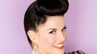 Pin Up Girl Hairstyle - 1950's Pump Hairstyle inspired by Bernie Dexter Thumbnail