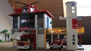 Hors Série #5 -Construction d'une caserne des pompiers (version mini)