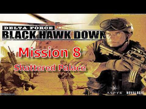 Delta Force: Black Hawk Down, Mission 8, (Russian underground) Gameplay  HD computer games, pc games