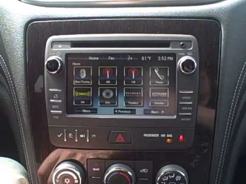How To: Program Your MyLink Radio In 2015 Chevy Traverse Indianapolis IN - YouTube