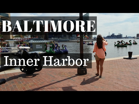 Baltimore Inner Harbor, Maryland - Travel Vlog!