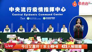 【LIVE】0531疾管署說明武漢肺炎最新疫情記者會