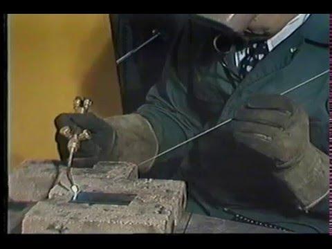 Oxy Acetylene Welding Part 2 Youtube