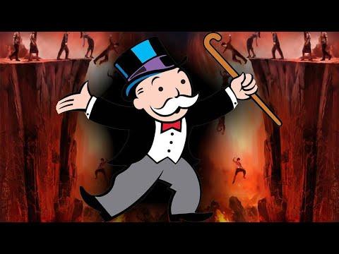 Der Monopoly-Mann ist der Teufel