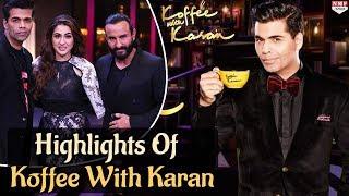Koffee With Karan Season 4| Saif Ali Khan |Sara |Must Watch thumbnail