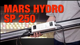 Mars Hydro SP 250 LED grow light review