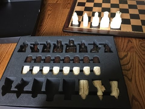 The Island of Lewis Chess Set Replica