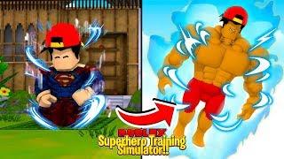ROBLOX - *NEW* SUPER POWER TRAINING SIMULATOR, PART 2!!