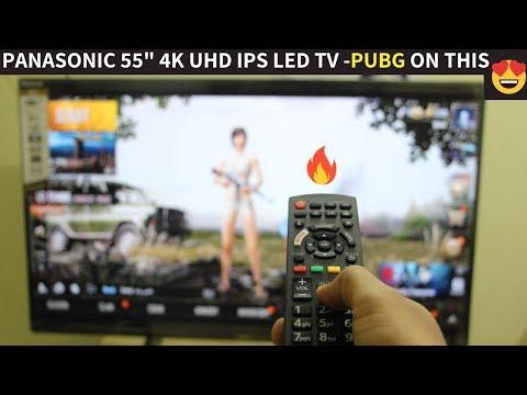 "BEST 4K UHD 55"" SMART LED TV    Unboxing & Review Of Panasonic TH-55FX600D   BEST Budget 55' 4K TV"