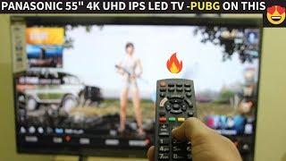 BEST 4K UHD 55 quot SMART LED TV Unboxing amp Review Of Panasonic TH-55FX600D BEST Budget 55 39 4K TV