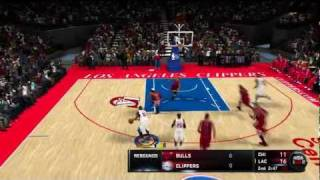 NBA 2K11 Online Ranked Game: LA Clippers vs CHI Bulls [Sick Gameplay + Sick Commentary]