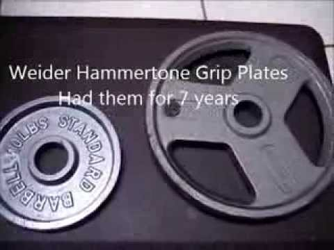 Best Olympic Plates – Weider style Grip Plates Weights review