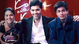 Sneak Peek Shahrukh Khan & Kajol on Koffee With Karan Season 4
