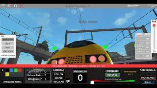 Roblox Terminal Railways Class 373 Eurostar Alyard West to Spring Hill *Circular*