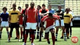 Tongan Rugby Team TV ad