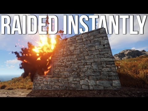Rust - How to Get Raided in Under an Hour