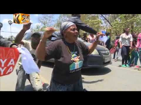 1 person shot, several injured after motorist runs over protestors