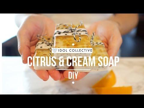 Citrus Cream Melt And Pour Soap Diy
