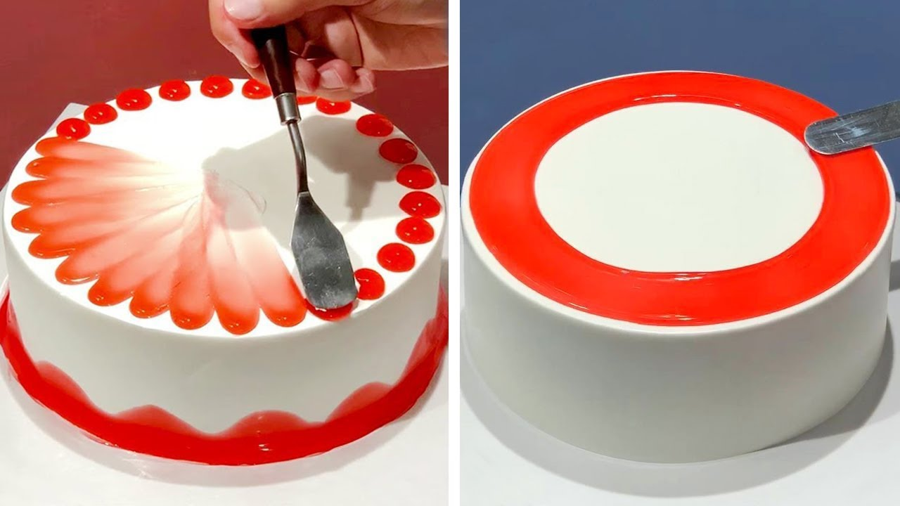 And chocolate cakes are some of the most simple cake designs too. 7 Creative Cake Decorating Ideas Like A Pro Most Satisfying Chocolate Homemade Cake Design Youtube