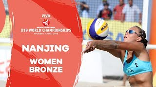 Nanjing - 2018 Beach Volleyball U19 World Championships  - Women Bronze Medal Match