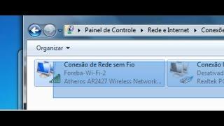 Problema no adaptador ou ponto de acesso sem fio no Windows 7 pelo notebook