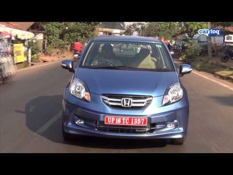 Honda Amaze VX Diesel and Petrol video review by CarToq.com