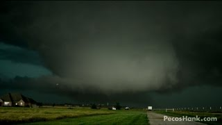LARGEST TORNADO EVER From Birth To Death W Radar Commentary 5 31 13