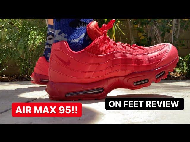 AIR MAX 95 'TRIPLE RED'