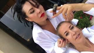 vuclip Girlfriend does my makeup - smoking a cigar & wine /Part 2 /Newport Beach