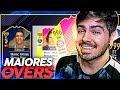 FUT DRAFT MAIORES OVERS!!! O ULTIMO DO FIFA 18 COM UM TIME SENSACIONAL!!!