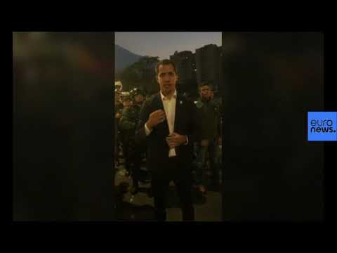 Juan Guaido calls for military to support uprising against Maduro