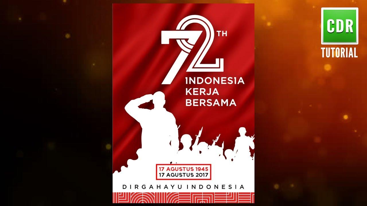 Cara Membuat Poster Banner Kemerdekaan RI 17 Agustus