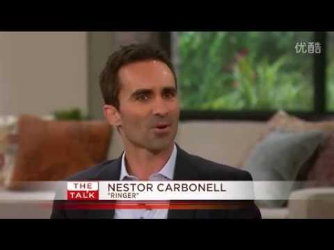 The Talk   Nestor Carbonell 's Fabulous Eyes