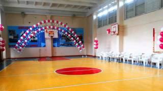видео Оформление выпускного воздушными шарами