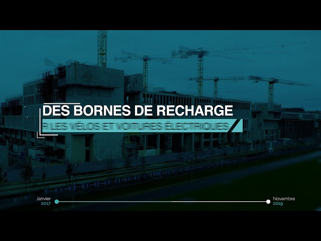 Timelapse Institut Mines Telecom - Palaiseau