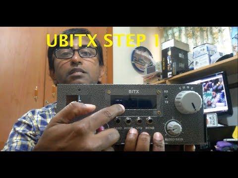 Ubitx Construction Step 1