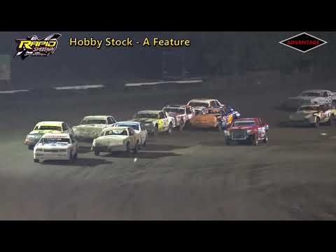 Hobby Stock A Feature - Rapid Speedway - 8/10/18