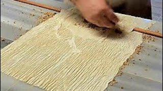 Baklava Nasıl Yapılır | El Açması Baklava Tarifi | Turkish Baklava Making