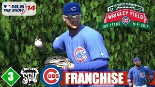 MLB 14: The Show (PS4) Chicago Cubs Franchise - EP3 (Home Opener)