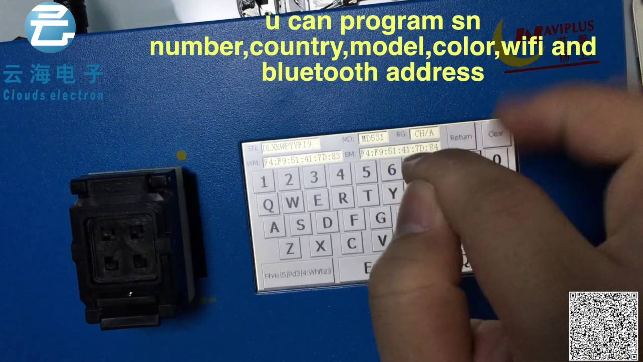 ipad mini1 how to bypass account change serial number