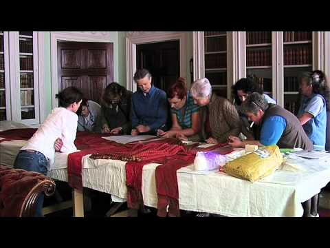 Castle Coole Curtain Project - Fermanagh TV