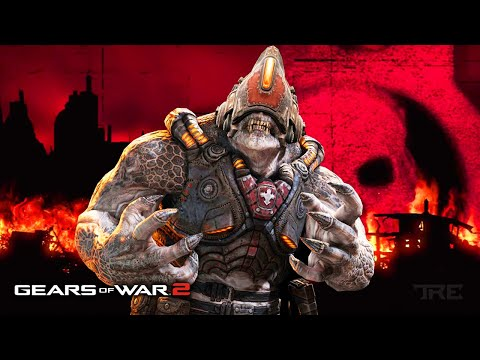 Playing GEARS OF WAR 2 On XBOX 360 In 2020