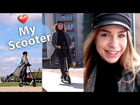 With my scooter through London - Vlog #ad